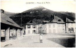 65 COMPAN - Place De La Halle  (recto/verso) - Autres Communes