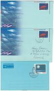 Portugal, 3 Aerogramme ** Und O 1979 + 2002 - Luftpost