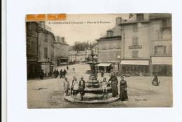 St-GENIEZ-d'OLT   -  Place De La Fontaine - Frankreich