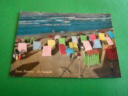 Cartolina Torre Pedrera - La Spiaggia 1961 - Rimini