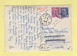 Marianne De Gandon - Destination Suede - Vichy Allier - 1949 - 1921-1960: Moderne
