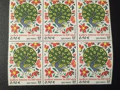 FRANCE - 2003 - Bloc De 6 - TABLEAU : Joaillerie Indienne XIXe  Y&T N° 3630** Neuf - Frankrijk