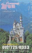 RARE Télécarte Japon / 110-016 - JTB - CHATEAU NEUSCHWANSTEIN - CASTLE GERMANY Japan Phonecard - SCHLOSS - Site 71 - Japan