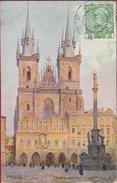 Tsjechie Ceska Republika Czech Rep.Vaclav Jansa  1859 -1913 Landscape Painter Illustrator Staré Msto Prague - Tchéquie