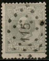 NLE-28   PTS 115  VLAARDINGEN    Yvert 22 - Period 1852-1890 (Willem III)