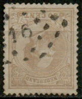 NLE-30   PTS 16   BREDA     Yvert 27 - Period 1852-1890 (Willem III)