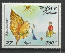 WALLIS ET FUTUNA N° PA 142 1984 Neuf Sans Charnière POSTE AERIENNE - Noël Coquillage Crèche - Airmail