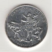 Canada 1 Dollar En Argent Henry Kelsey 1990 - Canada
