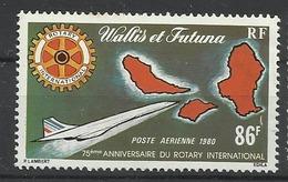 WALLIS ET FUTUNA N° PA 101 1980 Neuf Sans Charnière POSTE AERIENNE - Avion Rotary - Neufs