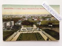 Brandenburg A.d. Havel, Anlage Der Bismarck-Warte, Vom Bismarckturm Gesehen, Gel. 1908 - Brandenburg