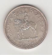 Canada 1 Dollar En Argent Police Montée 1973 - Canada