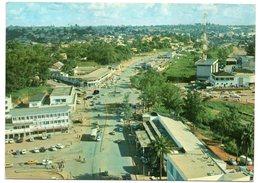 CAMEROUN/CAMEROON - PLACE AMADOU AHIDJO - YAOUNDE' / THEMATIC STAMPS-FRUIT - Camerun