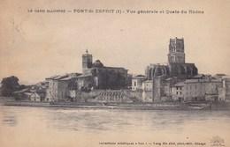PONT SAINT ESPRIT VUE GENERALE (dil171) - Pont-Saint-Esprit