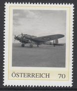 ÖSTERREICH 2016 ** 2. Weltkrieg - Heinkel He 111, Deutsches Kampfflugzeug - PM Personalized Stamps MNH - 2. Weltkrieg