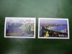 TIMBRES   AZERBAIDJAN   EUROPA   2004   N  489  /  490   COTE  8,00  EUROS   NEUFS  LUXE** - Europa-CEPT