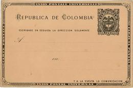 CTN49/1AM - COLOMBIE CARTE POSTALE NEUVE - Colombia