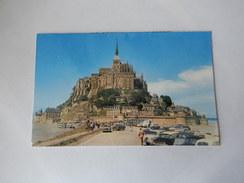 """Dep 50 Le Mont Saint Michel  L'arrivée  ( Neuve )' Nonbreuses Voitures """" - Le Mont Saint Michel"""