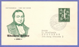 GER SC #735  1955 Adalbert Stifter, Poet  FDC 10-22-1955 - FDC: Covers