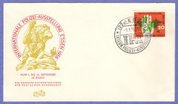 GER SC #751 1956  International Police Show  FDC 09-01-1956 - FDC: Covers