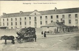 GUINGAMP  -- école Primaire Supérieure Des Graçons  (marchand Ambulant)                 -- Bazar Moderne - France
