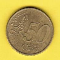 PORTUGAL  50 EURO CENTS 2002 (KM # 745) - Portugal