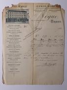 A LA VILLE DE BREST - NOGUE ( Parfumerie - Jeux - Cadeaux ) - Facture N 21 De 189x ? - Frankrijk