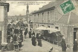 HUELGOAT  --vue De La Place Du Marché Prise De La Rue Des Cieux                  -- N D 375 - Huelgoat