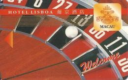 Hotel Lisboa Casino - Macau - Hotel Room Key Card - Hotelsleutels (kaarten)