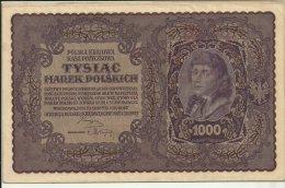 Poland 1000 Marek 1919 VF+ - Polonia