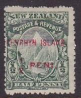 Penrhyn Island 1920 W.43 SG 9 Mint Hinged - Penrhyn