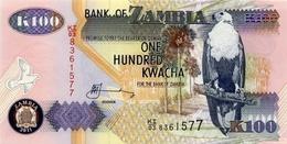 ZAMBIA 100 KWACHA 2011 P-38j UNC [ZM139k] - Zambia