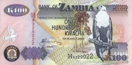 ZAMBIA 100 KWACHA 2010 P-38i UNC [ZM139j] - Zambie