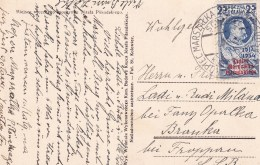 POLAND 1935 Pilsudski Postcard Fi 279 Used - 1919-1939 Republik
