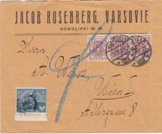 POLAND 1922 Censored Cover - Briefe U. Dokumente