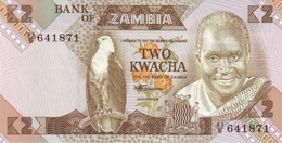 ZAMBIA 2 KWACHA ND (1986) P-24c UNC [ZM125c] - Zambie