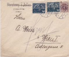 POLAND 1921 Cover - 1919-1939 Republik