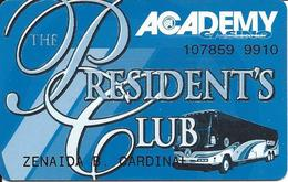 Academy Bus - The President's Club Card - Other Collections