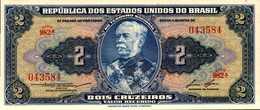 BREZIL 2 CRUZEIROS De 1956-58nd  Pick 151b  UNC/NEUF - Brésil