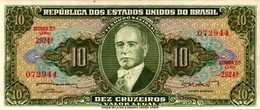 BREZIL 10 CRUZEIROS De 1962nd  Pick 177b  UNC/NEUF - Brazil