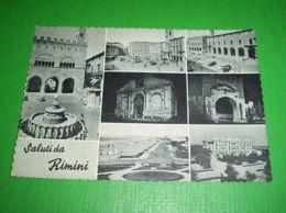 Cartolina Rimini - Vedute Diverse 1959 - Rimini