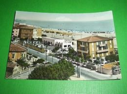Cartolina Rimini - Spiaggia 1953 - Rimini