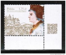 PL 2015 MI 4808 IV 600th Anniversary Of The Birth Of Jan Dlugosz ** - 1944-.... Republik