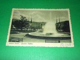 Cartolina Vittorio Veneto - Giardini Pubblici 1942 - Treviso