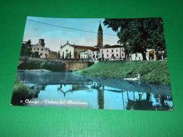 Cartolina Oderzo - Veduta Dal Monticano 1958 - Treviso
