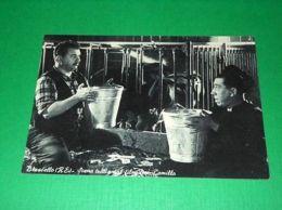 """Cartolina Brescello - Scena Tratta Dal Film """"Don Camillo"""" 1955 Ca # 3 - Reggio Nell'Emilia"""