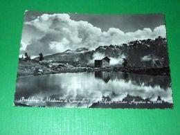 Cartolina Pradalago ( Madonna Di Campiglio ) - Il Rifugio Silvio Agostini 1953 - Trento