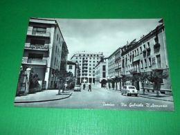 Cartolina Treviso - Via Gabriele D' Annunzio 1960 - Treviso