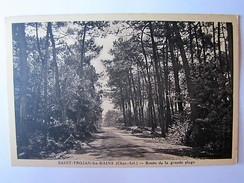 FRANCE - CHARENTE MARITIME - SAINT-TROJAN-LES-BAINS - Route De La Grande Plage - Sonstige Gemeinden