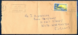 J120- Postal Used Cover. Posted From Nigeria To England. UK. Tree. Plants. - Nigeria (1961-...)