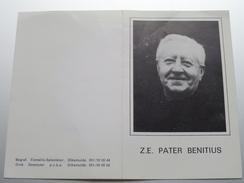 DP Z.E. Pater BENITIUS (Arthur) VANMAELE Torhout 5 Jan 1892 - Diksmuide 22 Juli 1985 ( Zie Foto's ) ! - Avvisi Di Necrologio